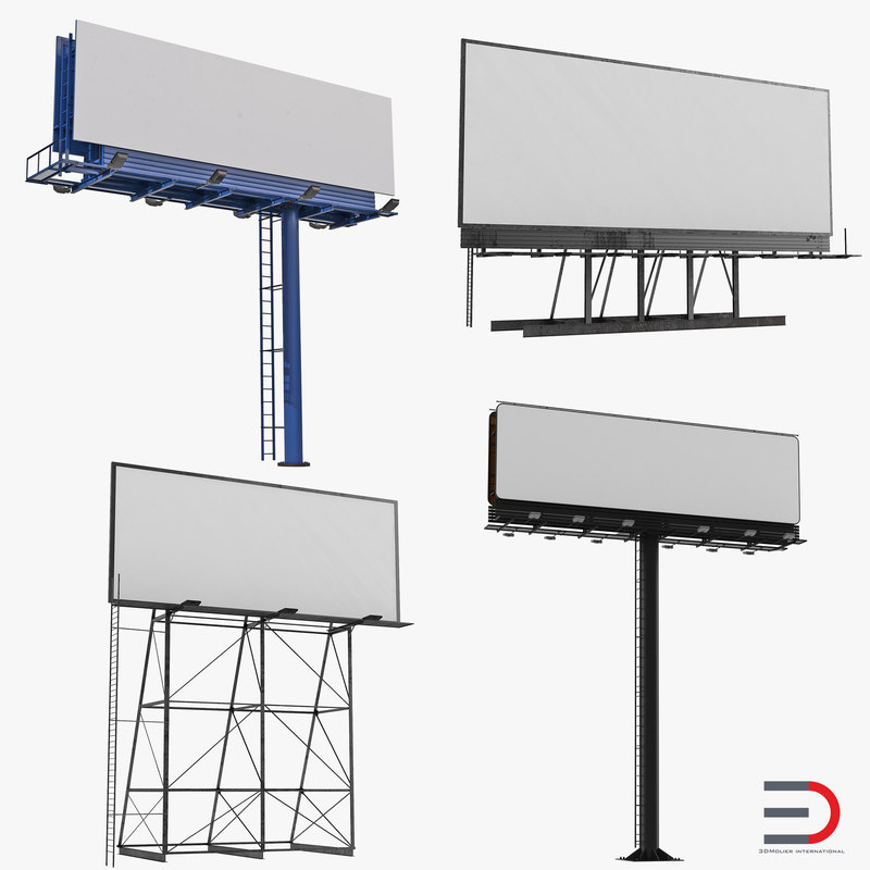 Billboards Collection 3d models 00.jpg