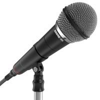 c4d microphone mesh
