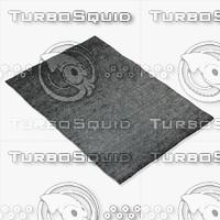 amara rug smart ns-grey 3d model