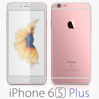 apple iphone 6s 3d max