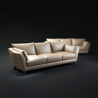 3d chateaux-d ax-sofa model