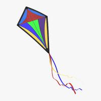 kite 01 3d model