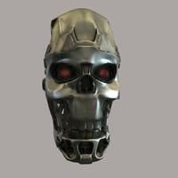 max terminator skull head