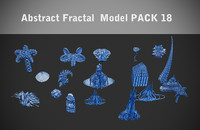 max abstract fractal pack 18