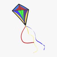 3d model kite 03