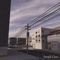 city block 3d 3ds