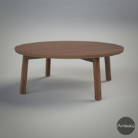 3d ikea stockholm coffee table