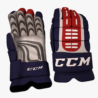 3d ice hockey glove model