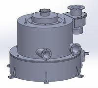 3d model grinding ball race