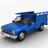3d model of zamyad pickup