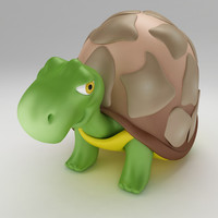 turtle tortoise old 3d max