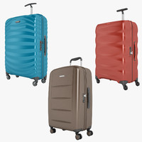 3d samsonite lite-shock xylem model