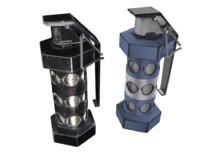 3d model flashbang grenade