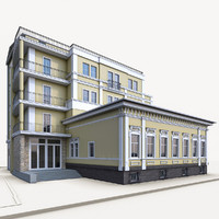 traditional residential building max