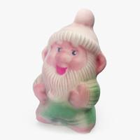 figurine toy gnome dwarf max