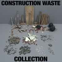 3d construction waste