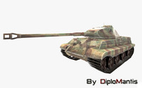 3ds german tank tiger
