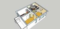 3d model house interior