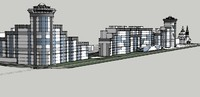 residential complex 3ds