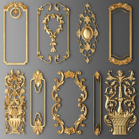 frame cartouches set max
