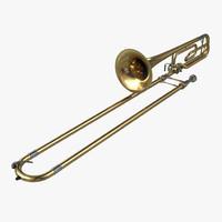 trombone 3d 3ds
