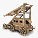 siege tower 3D models