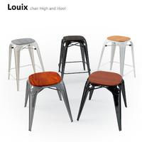 max stool louix chair