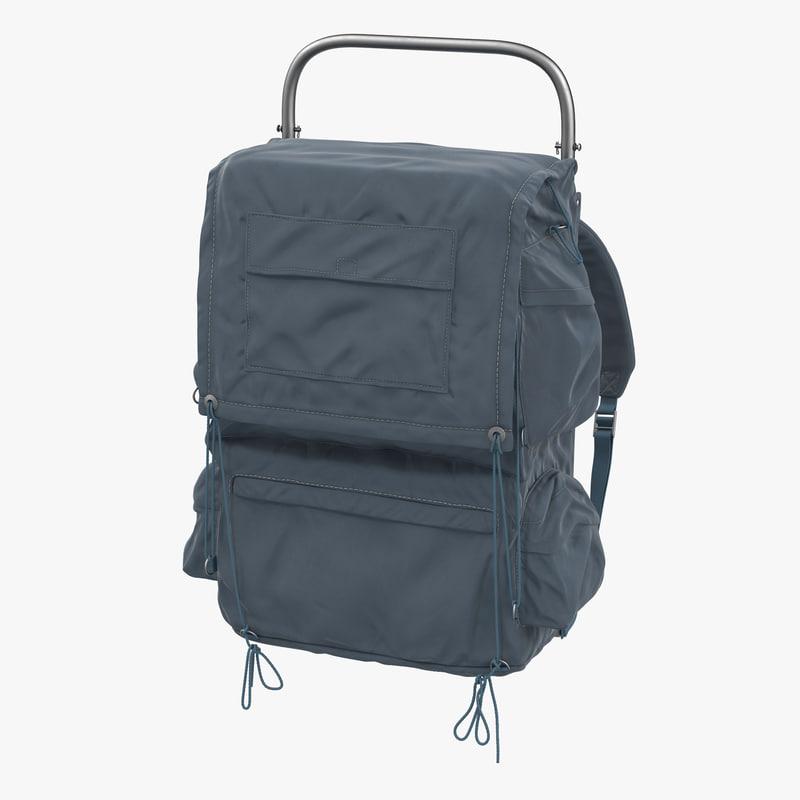 Camping Backpack 3d model 00.jpg