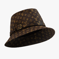 louis vuitton bagatelle hat 3d max