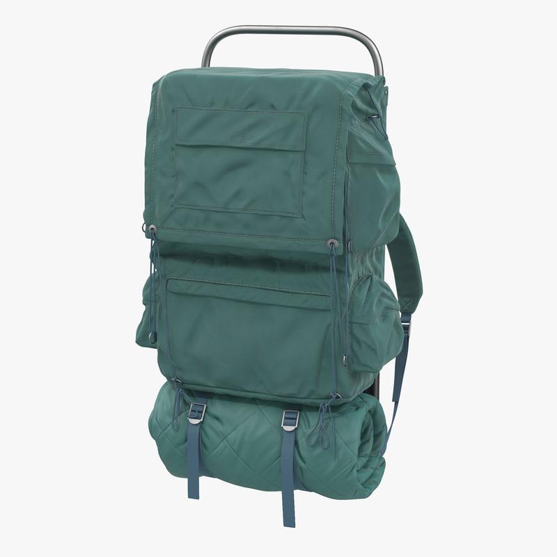 3d model of Camping Backpack 00.jpg