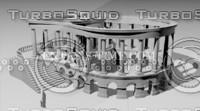 3d pavilion building model