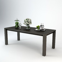 3d 3ds eichholtz dining table devon
