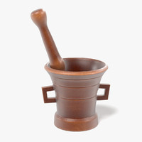 3d model of alchemy mortar