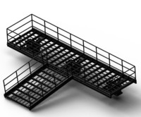 iron bridge 3d model