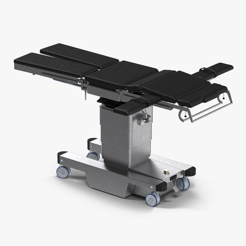 Universal Operating Table Generic 3d model 00.jpg
