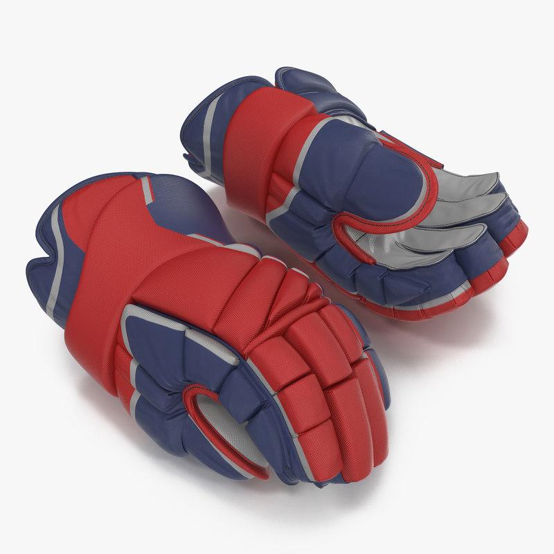 Hockey Gloves 3d model 00.jpg