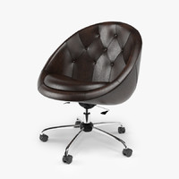 Swiver Chair Nido Brown