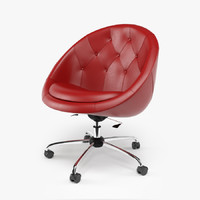 Swiver Chair Nido Red