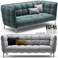 3d model husk sofa b