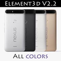 Nexus 6P Element 3D V2.2