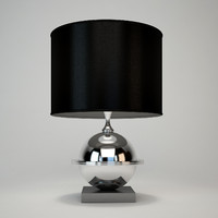 eichholtz orbit lamp 3d dxf