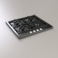 3d model gas panel
