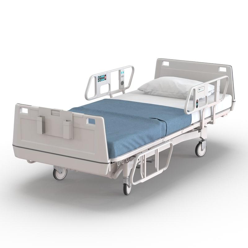 Hospital Bed 3d model 01.jpg