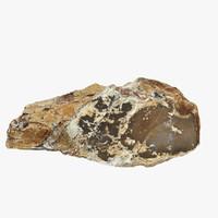 3d flint stone 2