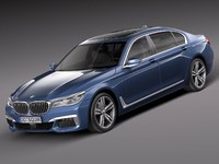 2016 bmw 7-series 3d 3ds