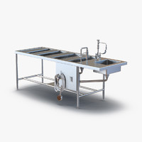 3d autopsy table model