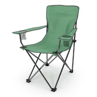 3d model of chair camping