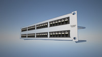 rj45 patch panel 3d 3ds