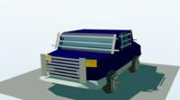 battle car 3d 3ds