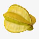 Star Fruit 3D models